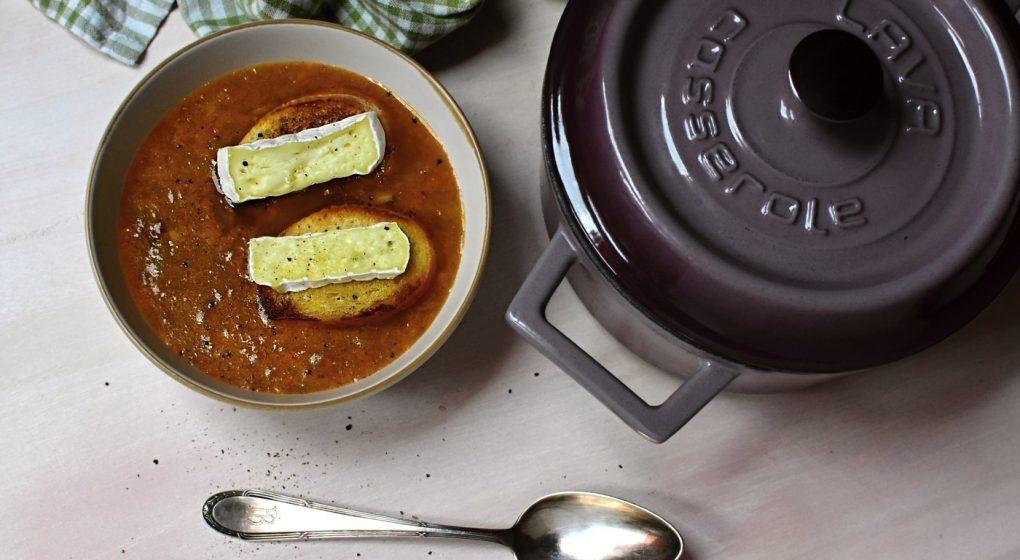 schmortopf gusseisen suppe