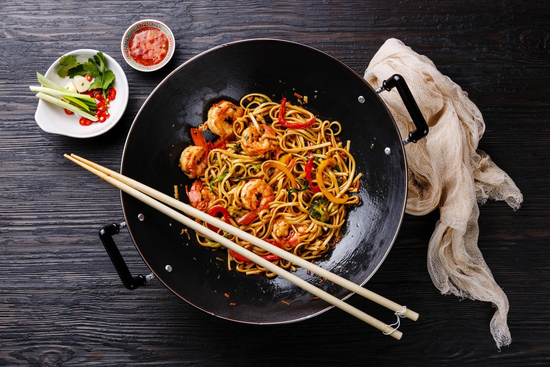 wokpfanne gusseisen