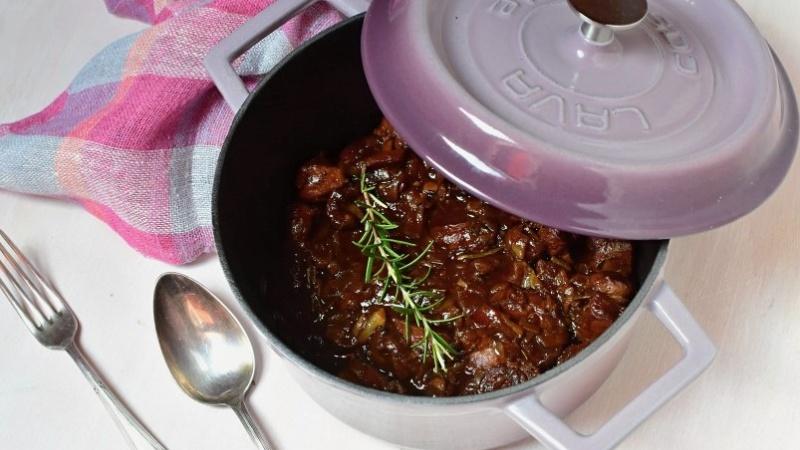 gusseiserne kasserolle