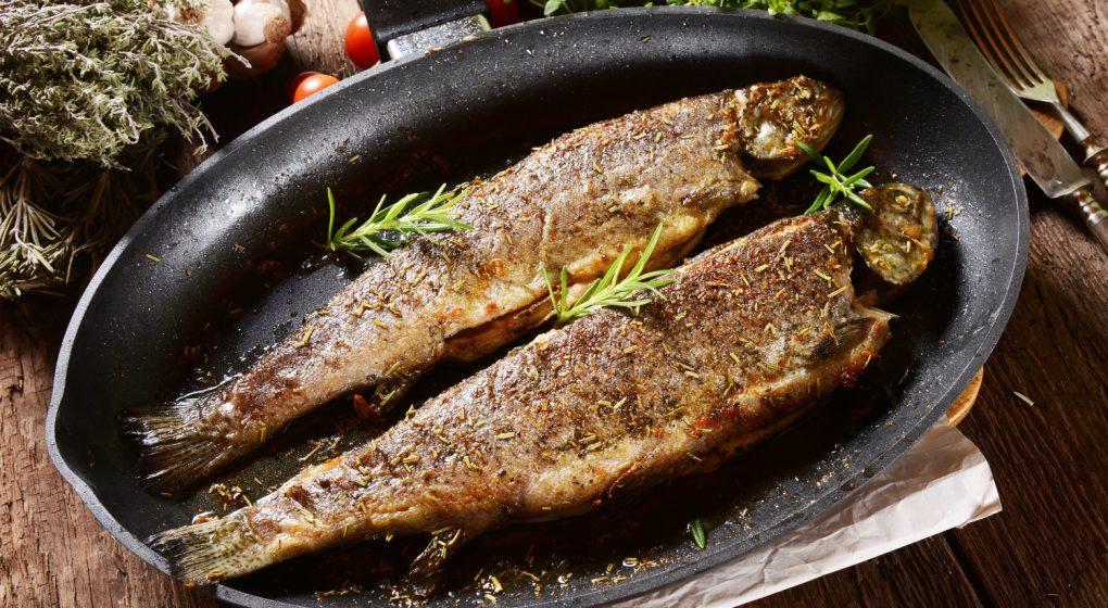 Fischpfanne oval